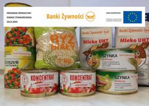 Projekt pomoc żywnościowa
